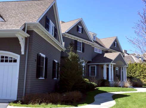 Exterior house painting in Falmouth, Cape Cod