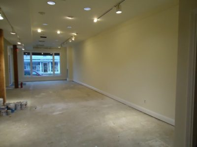 Interior commercial painting Cape Cod