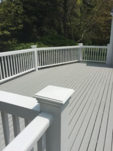 Terrace painting Cape Cod