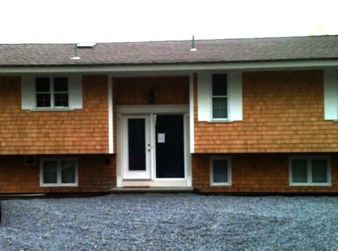 Exterior commercial painting Cape Cod