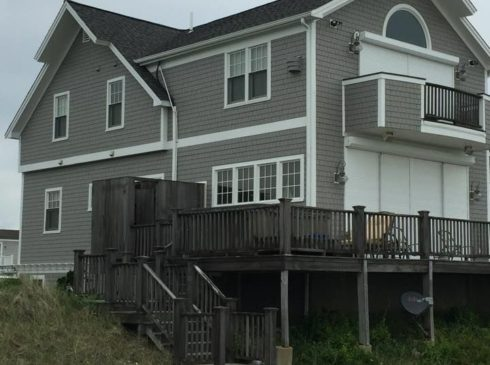 Exterior painting on Cape Cod